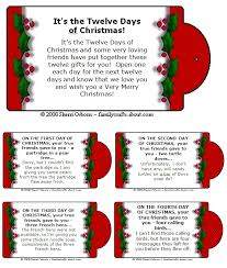 contagiously crafty 12 days of christmas kids style