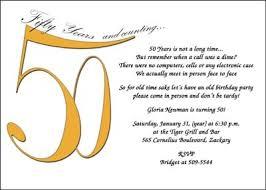 50th birthday party invitation wording cimvitation