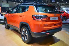 jeep compass 2017 grey jeep compass trailhawk shown at the dubai motor show 2017
