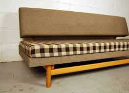 sold oak and wool sofa daybed 31d004 danish vintage modern