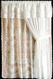 White Lace Valance Curtains Windows Lace Valances For Windows Designs Wisteria Arbor Lace