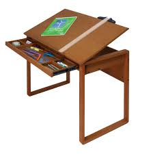 Drafting Tables For Sale by Studio Designs Ponderosa Wood Topped Craft Table 13285