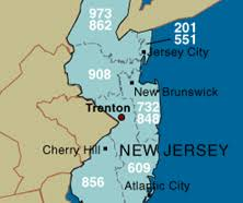jersey area code map jersey area code information phone customer service and