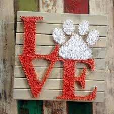 string art stringart string and nail art nail art dog paw