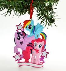 my pony pinkie pie twilight sparkle personalized ornaments