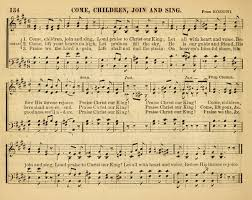 christian songs for the sunday school 134 come children join