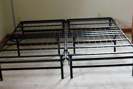 Folding Bed Frame Linen Spa Highrise Folding Bed Frame Review