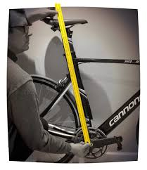 wall mounted height measure my world from a bicycle lemond u0027s sizing chart and hamley u0027s method