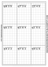 bunch ideas of long division worksheets with grid with worksheet