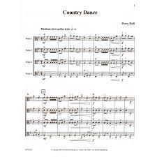 country dance for viola quartet shar music sharmusic com