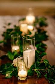 candle runners stunning greenery wedding table runners 32 to to hold