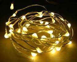 David Tutera Fairy Lights 36 Warm White Fairy Light Leds On 6 Foot Coated Copper Wire This