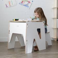 Kid Study Desk Wooden Modern Desk With Storage American Made Childrens Desk