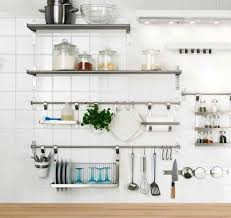 Stainless Steel Kitchen Shelves by Living Room Stainless Steel Wall Shelves For Kitchen With Regard