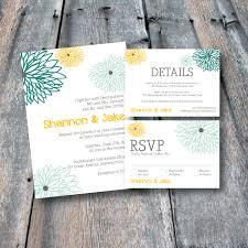 wedding invitations rsvp cards floral wedding invitation suite rsvp card details card