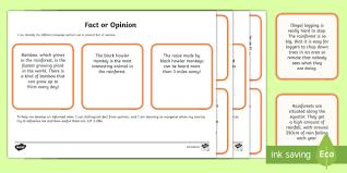 reading comprehension distinguish between statements page 1
