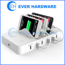 charging station organizer phone charging station valet usb qualcomm qc 3 0 charging hub