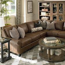 Livingroom Funiture How To Decorate With Brown Leather Furniture Brown Leather