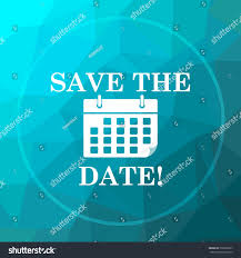 save the date website save date icon save date website stock illustration 558076627