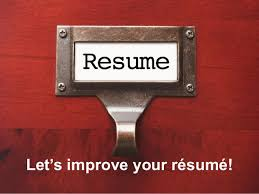 Improve Resume Fresh Grads Recharge Your Resume And Boost Your Chances