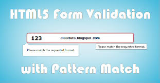 html input pattern alphanumeric html5 form validations with pattern matching coding cage