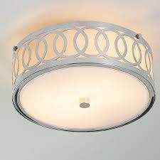 Ceiling Mounted Lights Small Interlocking Rings Flush Mount Ceiling Light Flush Mount