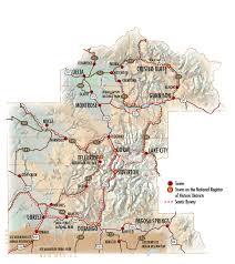 map of southwest map southwest colorado travel region
