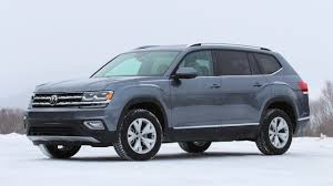 black volkswagen atlas 2018 volkswagen atlas first drive motor1 com photos