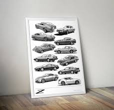 nissan leaf australia forum z car poster wall art nissan datsun zcar forum nissan z