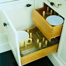 Cabinet Organizers For Dishes Great Kitchen Storage Ideas Traditional Home