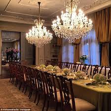 Vampire Weekend Chandelier Gigi And Bella Hadid U0027s Dad Mohamed Shows Off His Palatial Bel Air