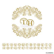 100 free wedding monogram templates 7 best images of