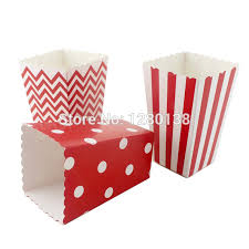 gold foil gift boxes 120pcs decorative popcorn boxes foil gold foil silver pink blue