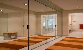 contemporary mirrored closet doors doors ideas