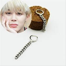 earrings photo youpop kpop bangtan boys album bts jimin stud earrings korean
