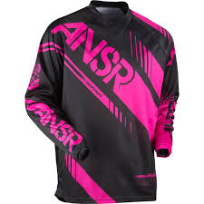 youth motocross jerseys answer 2017 youth mx new syncron black pink jersey pant girls