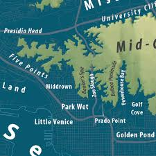 Map Of San Diego by Sea Of San Diego Spatialities