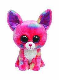 amazon com ty beanie boos glamour leopard plush pink toys