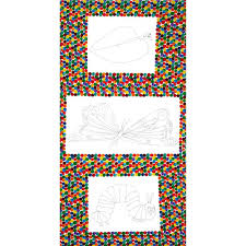 the very hungry caterpillar coloring book panel multi discount