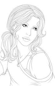 fashion model coloring pages fashion designer with the 80 models coloring book by 70eastbooks
