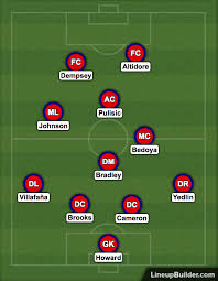 Armchair Pundit Armchair Analyst Tactical Preview U0026 Lineup Prediction For Us Vs