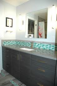 Bathroom Accent Cabinet 2nd Bathroom Green Glass Mosaic Accent Tile