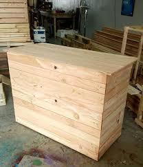 Diy Wooden Computer Desk by Pallet Computer Desk Reception Desk 99 Pallets