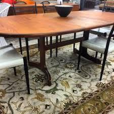 teak trestle dining table vintage retro danish design teak g plan extending dining table 60s