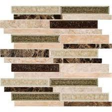 Backsplash Tiles Kitchen by Backsplash Mosaic Tile Tile The Home Depot
