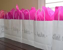 bridesmaid gift bags bridesmaid gift bag etsy