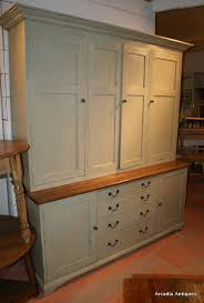 large painted house keepers cupboard antique cupboards