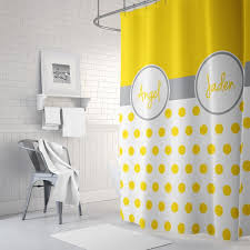 Grey And White Polka Dot Curtains Shower Curtains Gathered Nest Designs