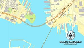 map us baltimore baltimore maryland us printable vector city plan map