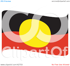 Indigenous Flags Of Australia Australian Aboriginal Flag Clipart Clipart Collection